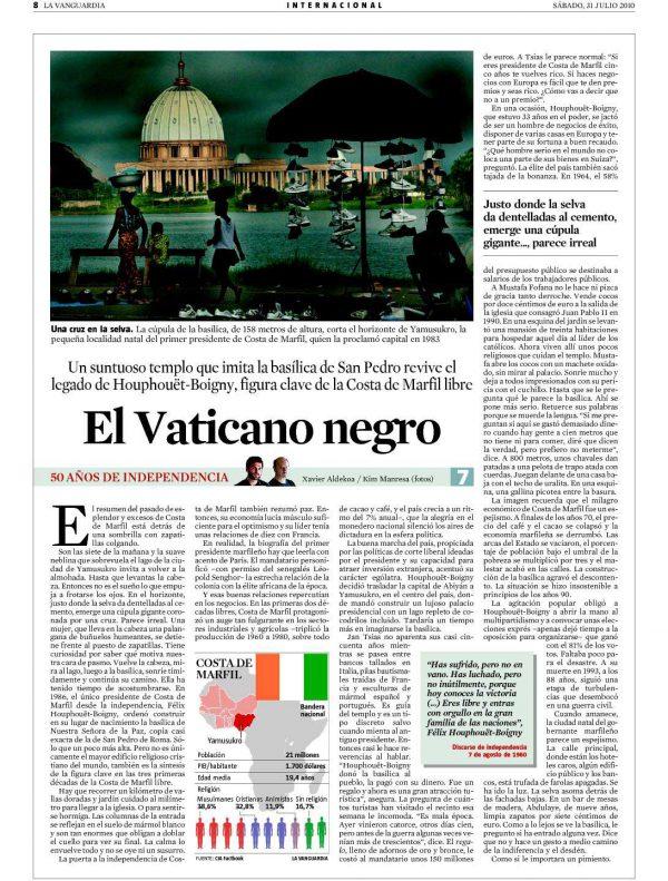 El Vaticano negro