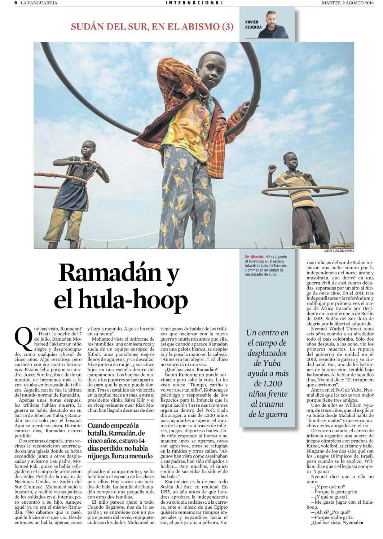 Ramadán y el hula-hoop
