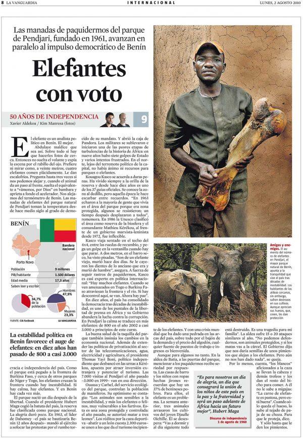 Elefantes con voto
