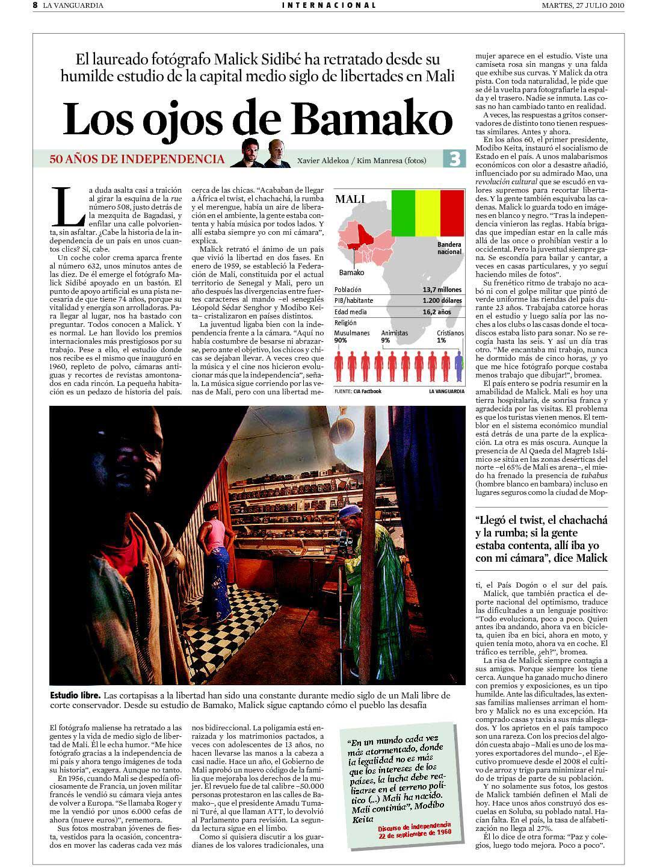 Los ojos de Bamako
