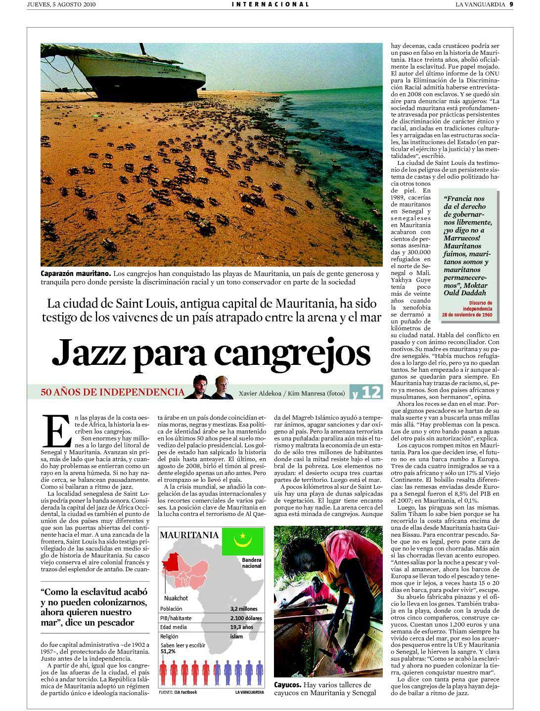Jazz para cangrejos