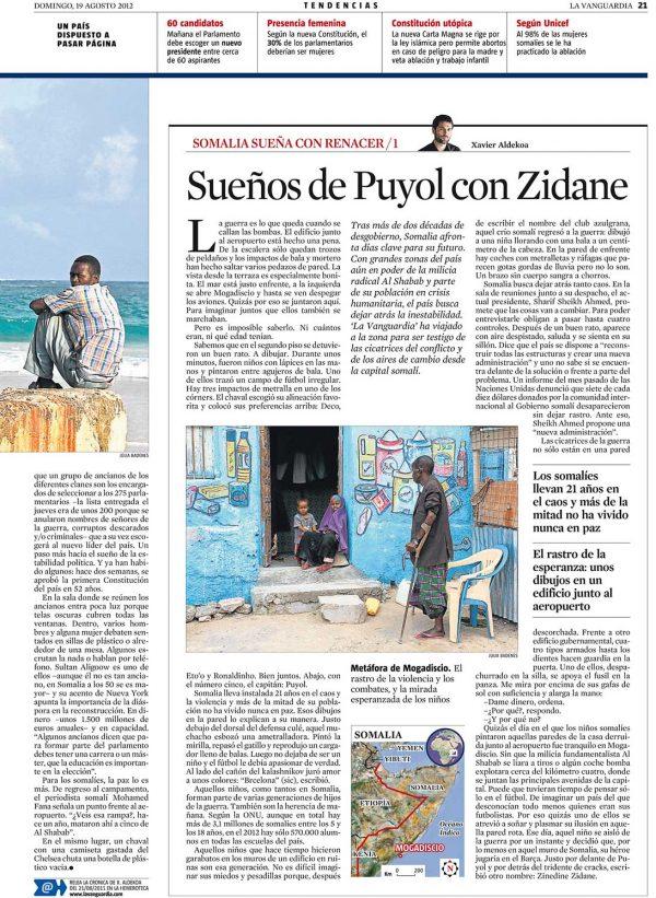 Sueños de Puyol con Zidane